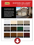 Sherwin Williams Color Codes