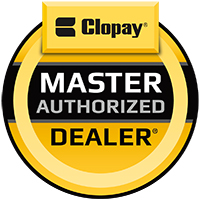 Anchor Door & Window is proud to be a Clopay Master Authorized Dealer.