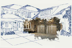 Use the Clopay Visualizer Tool to imagine your new garage door.