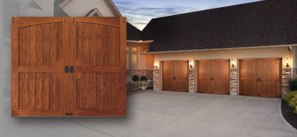 Canyon Ridge Limited Edition Canyon Ridge Limited Edition Insulated  Carriage House Garage Doors ...