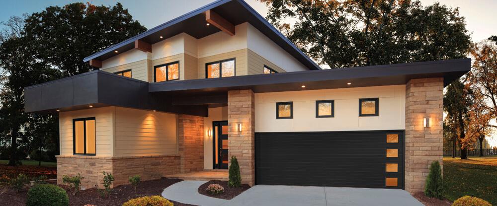 . Insulated Garage Door w  Ultra Grain Finish   Kelowna  Anchor Door